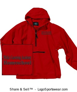 Youth Pack-N-Go Pullover by Charles River Design Zoom